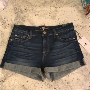 7 For All Mankind Denim Shorts 43583240